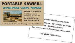 Portable Sawmill link
